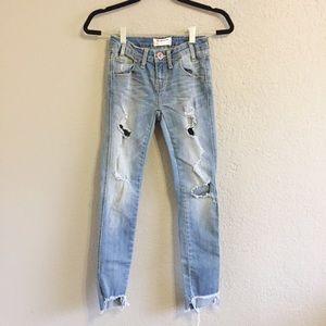New One Teaspoon Freebird II Distressed Jeans
